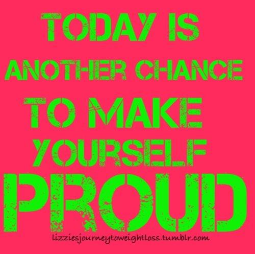 Thursday Motivation Make Yourself Proud Alternativeeating